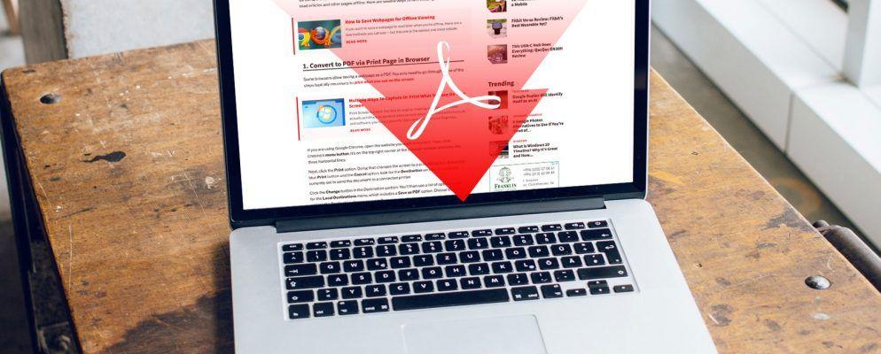 3 einfache Möglichkeiten zum Konvertieren von Webseiten in PDFs