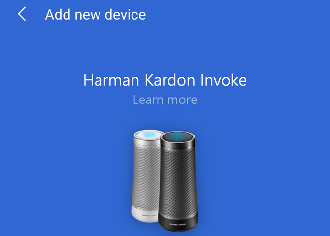 Cortana App Harman Kardon