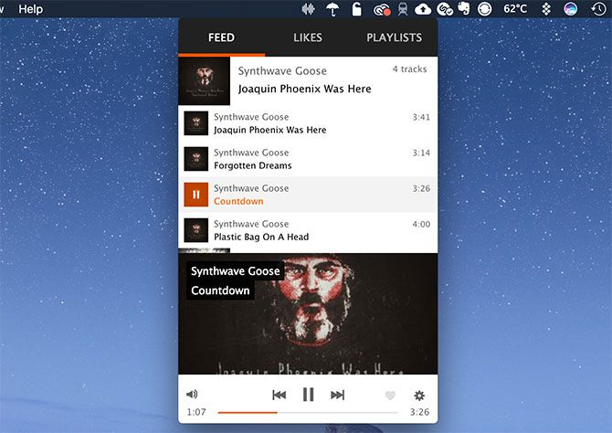 Cumulus for Mac SoundCloud Desktop App