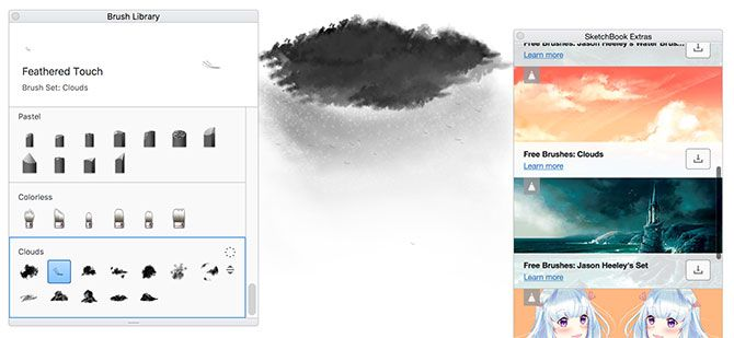 Autodesk SketchBook Free Brushes