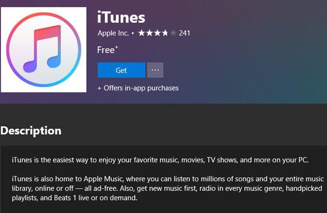 The Microsoft Store Version of iTunes Is Actually Better
