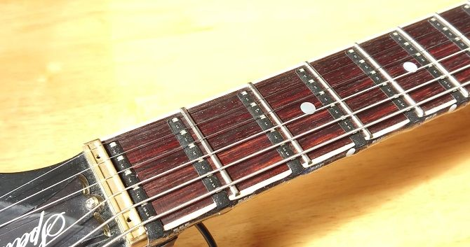 How the Fret Zealot looks once applied