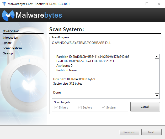 Free Security Tools - Malwarebytes Anti Rootkit