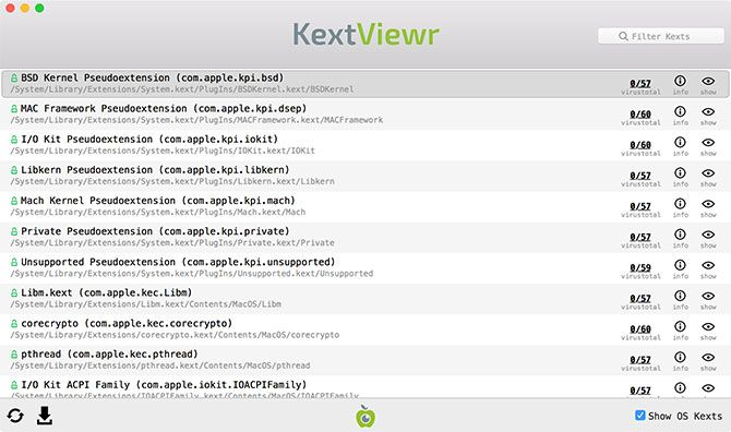 KextViewr for Mac
