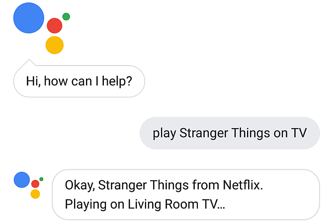 Google Assistant Play on TV