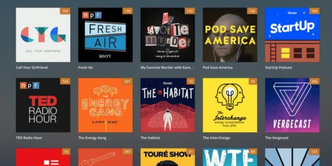 Plex Adds Podcasts and Customization Options