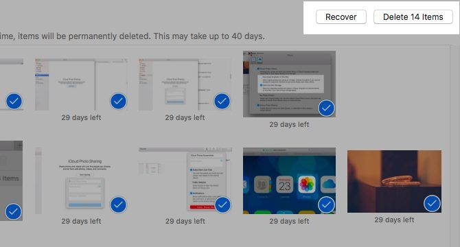 Recently Deleted Photos Iphone Turn Off