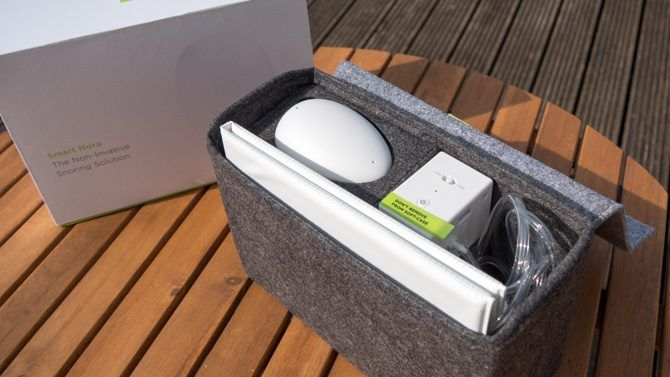 The Smart Nora carry case with everything packed away
