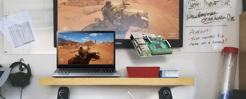 How to Stream Any PC Game to TV Using a Raspberry Pi