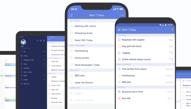 TickTick iOS to-do list app