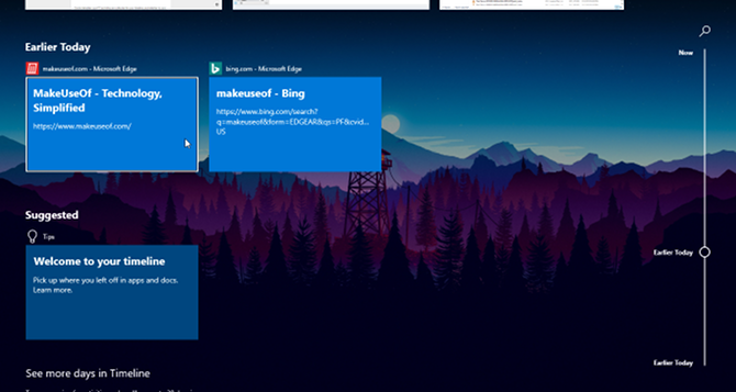 windows 10 timeline 2