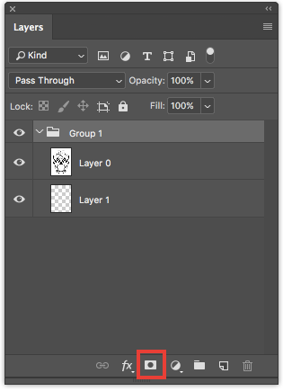 add photoshop mask