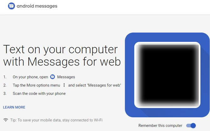 Android-Messages-Web-Text