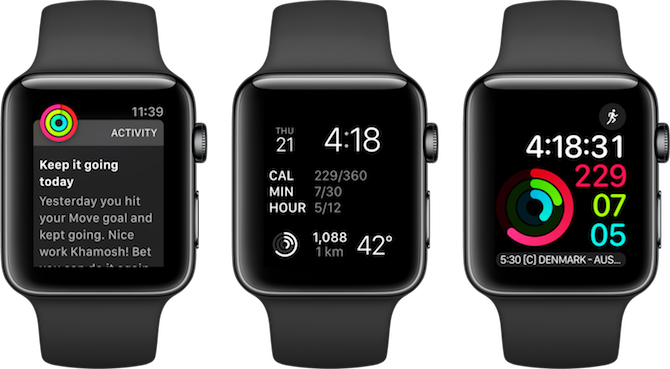 Apple Watch Fitness Apps Activity Notifications