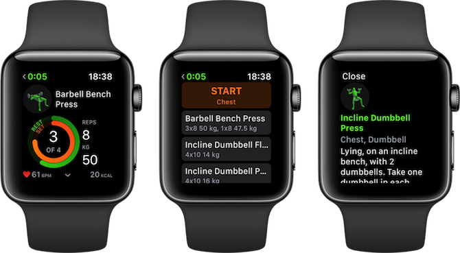 Apple Watch Fitness Apps Gymaholic