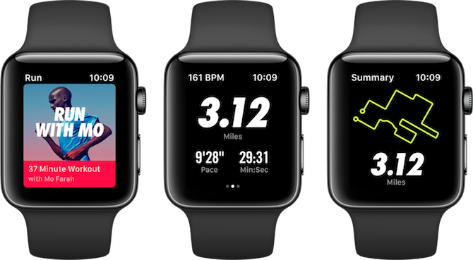 Apple Watch Fitness Apps Nike+ Run Club