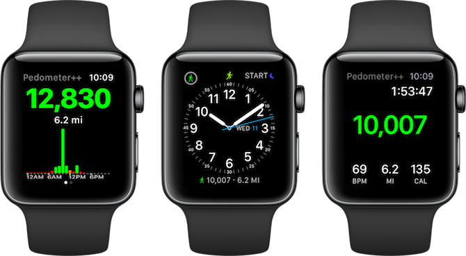 Apple Watch Fitness Apps Pedometer++