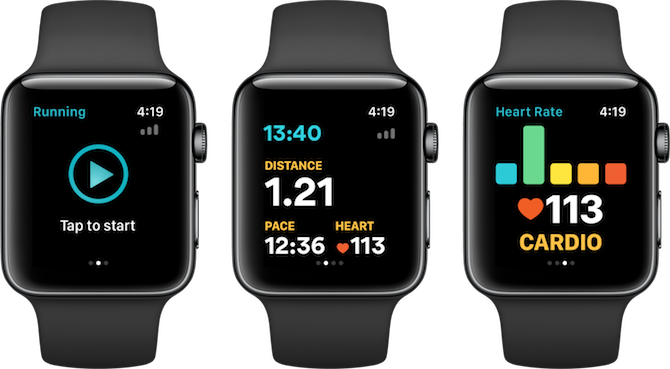 Apple Watch Fitness Apps Runkeeper
