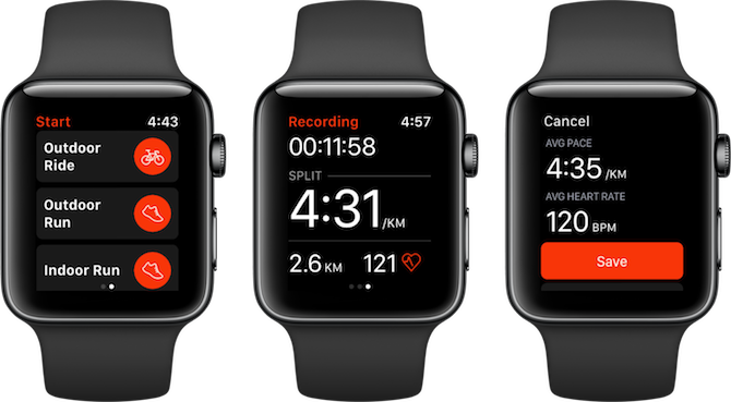 Apple Watch Fitness Apps Strava