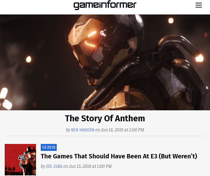 Best Info And News Site: The 7 Best Gaming News Sites And Game Review Sites