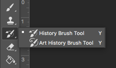 photoshop history brush tool