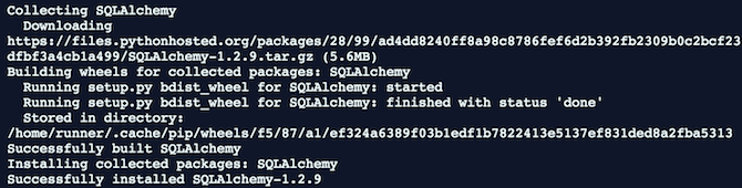 Installing SQLAlchemy on your PC