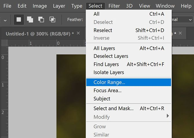 How to Select All of the Same Color in Photoshop