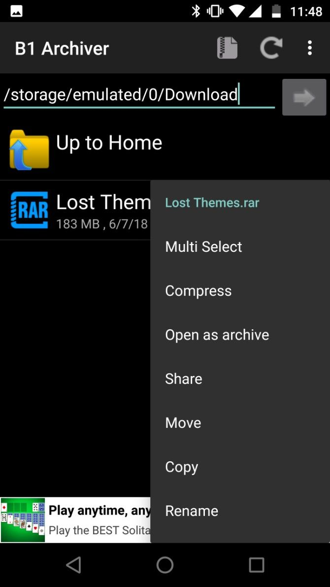 multiple rar file extension