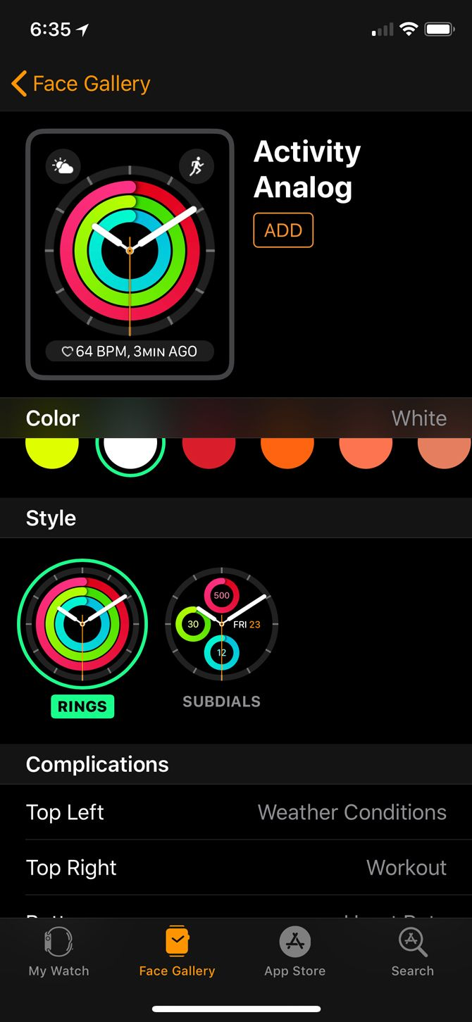 how to add manual activity to apple watch