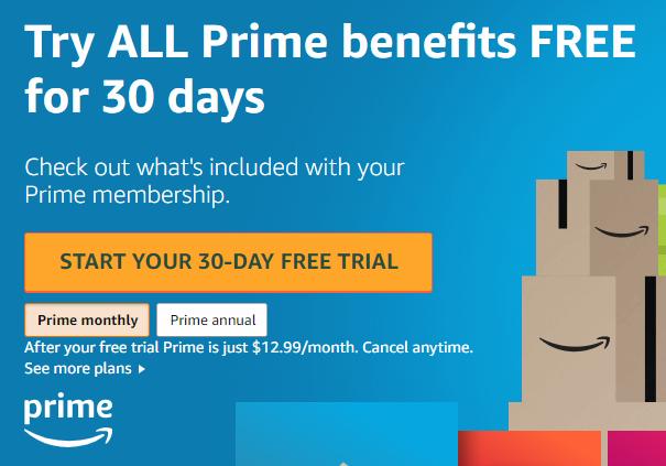 Besplatna probna verzija Amazon premijera