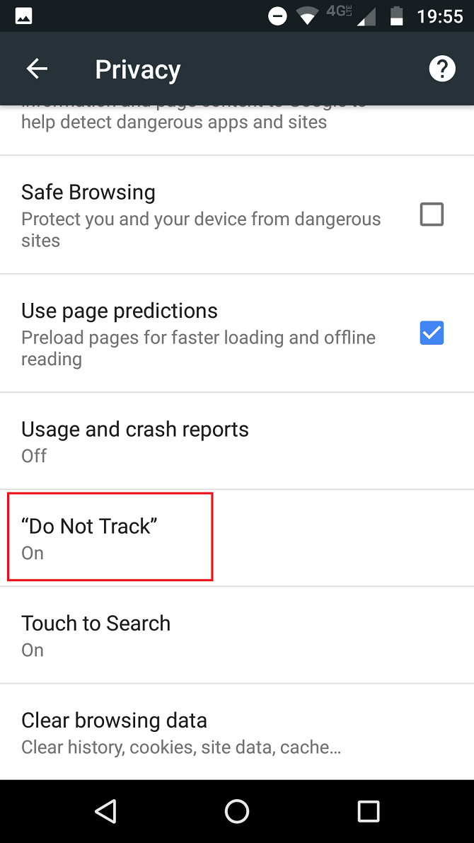 7 Essential Privacy Settings for Chrome on Android