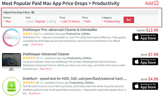 6 Ways to Find Mac and iPhone App Store Discounts | Scholars