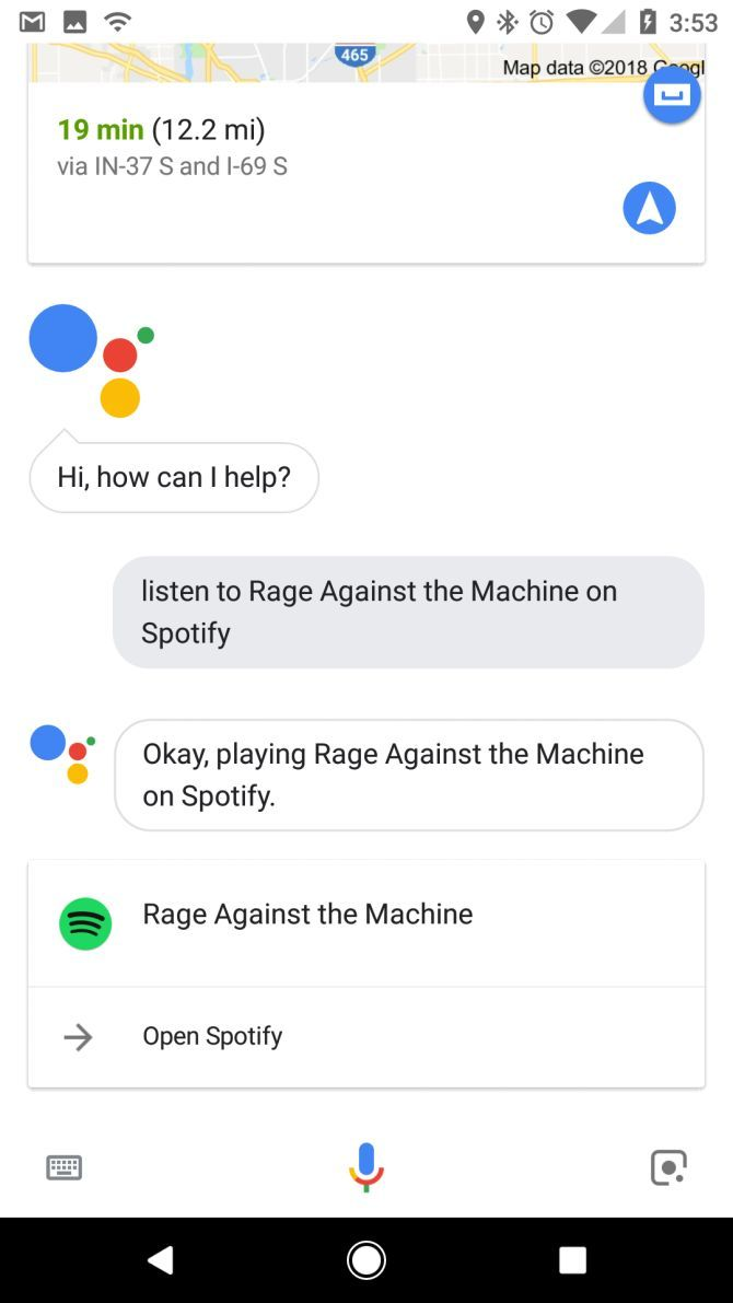 how to use apple music with google assistant