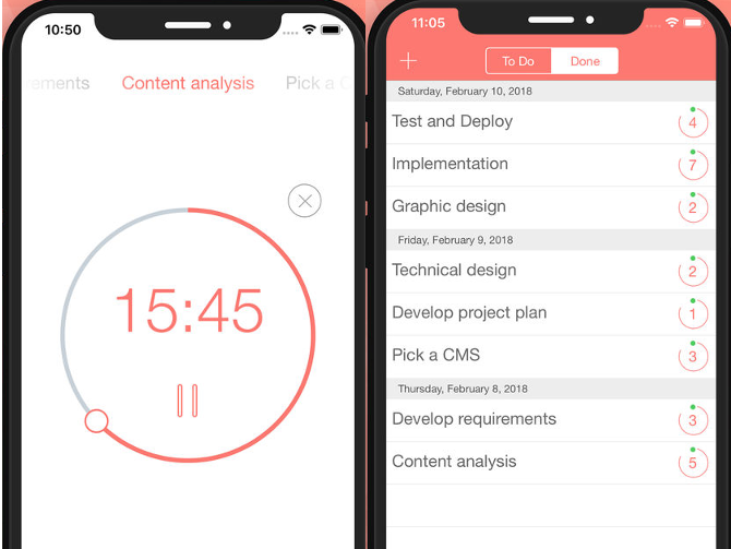 Be Focused Pro iOS time management app