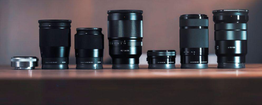 Die besten Kamera-Objektive für 10 beliebte Arten von Fotografie