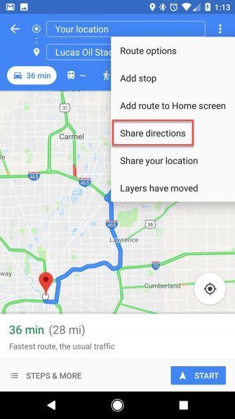Tricks That'll Change How You Navigate in Google Maps - Tech ... on google car route, apple map route, world map route, iphone map route, google maps russia, google plan route, google points of interest, united states map route,