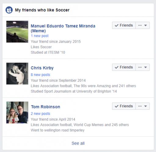 advanced friend finder facebook