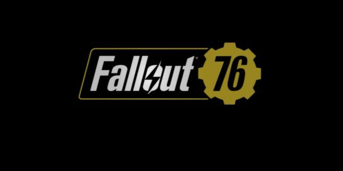 Fallout 76 Is an Online-Only Survival Game