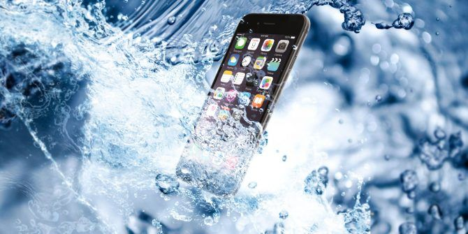 how to make water avapurate in a phone