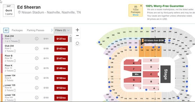 Is hook up tickets real