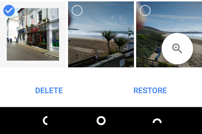 Google Photos Recover Images Android