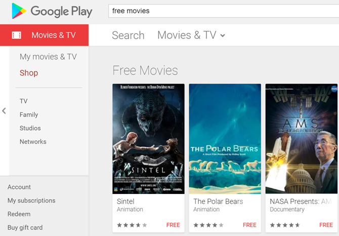where to rent movies online for free