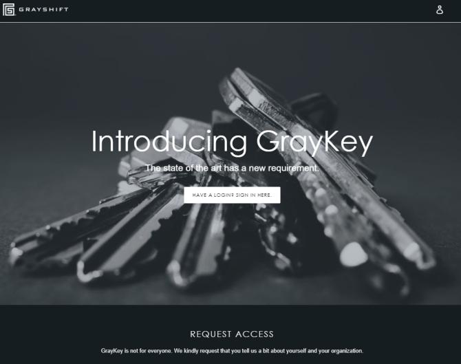 GrayKey hacks Apple iPhones for law enforcement and security agencies