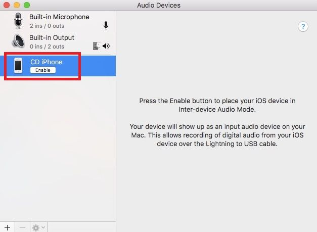 How to Play Audio From an iPhone on a Mac iphone audio input