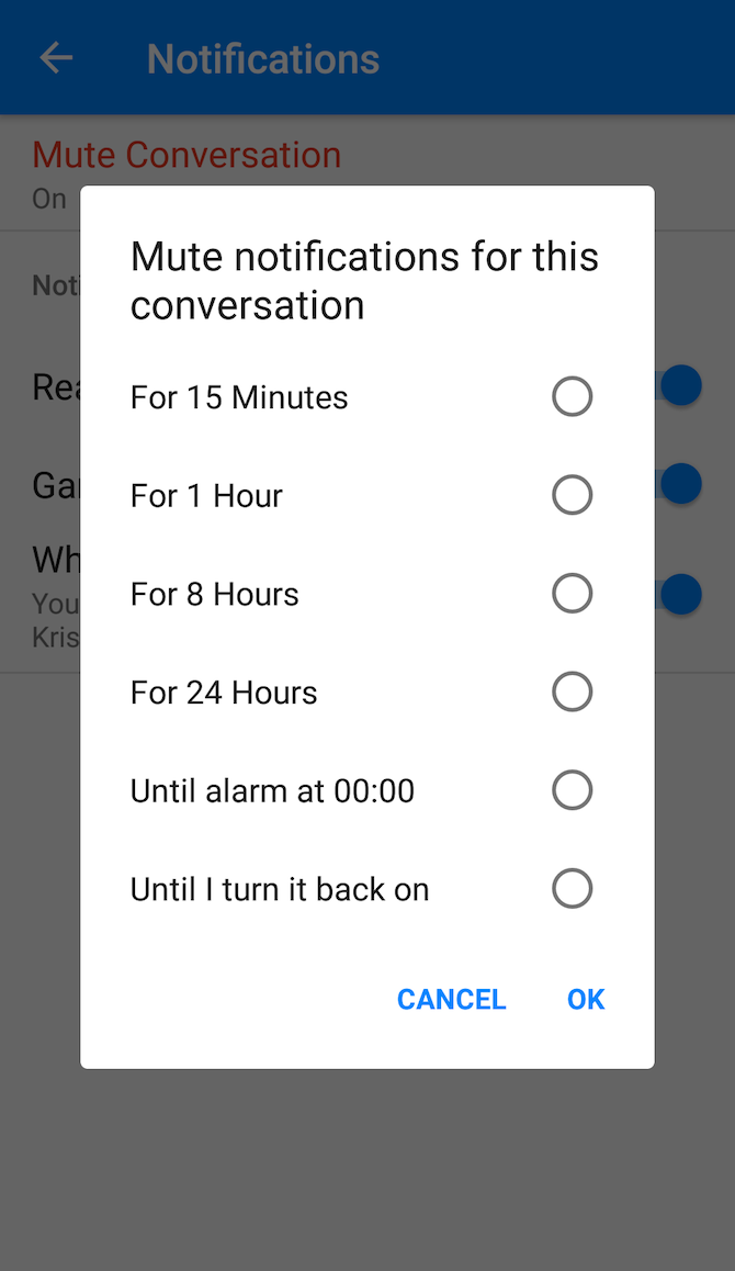 how to delete people off messenger