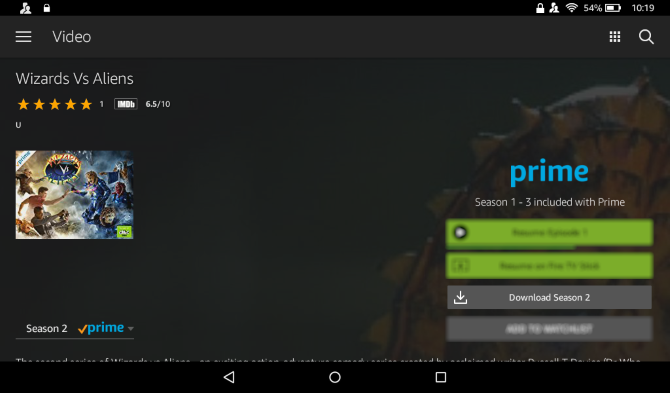 How to download Prime video to Amazon Fire tablet