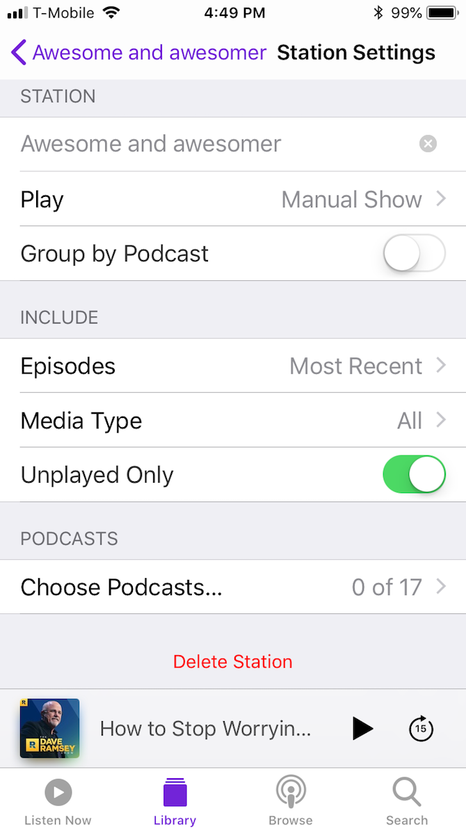 A Guide to the (Surprisingly Excellent) iPhone Podcasts App