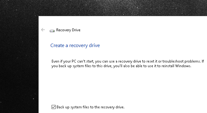 The Ultimate Windows 10 Data Backup Guide recovery drive 2k18