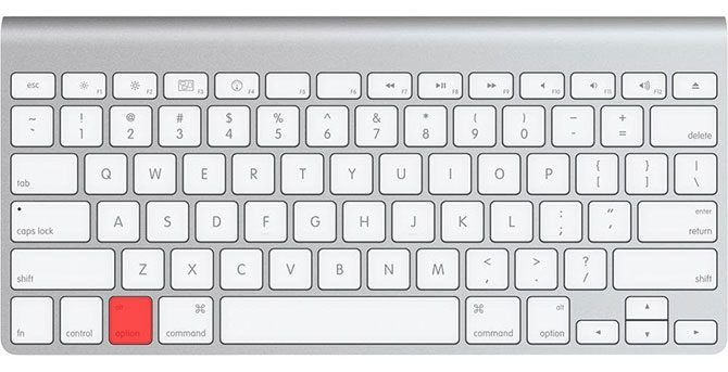 Apple Smart Keyboard Option