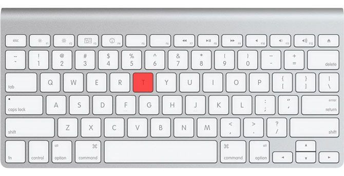 Apple Smart Keyboard Hold T